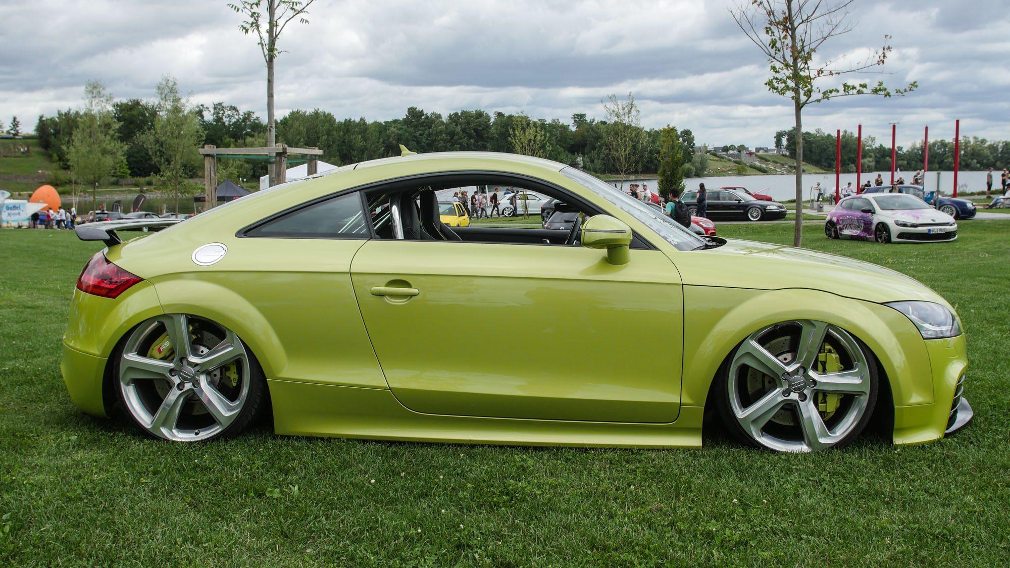 Seitenansicht des Audi TT