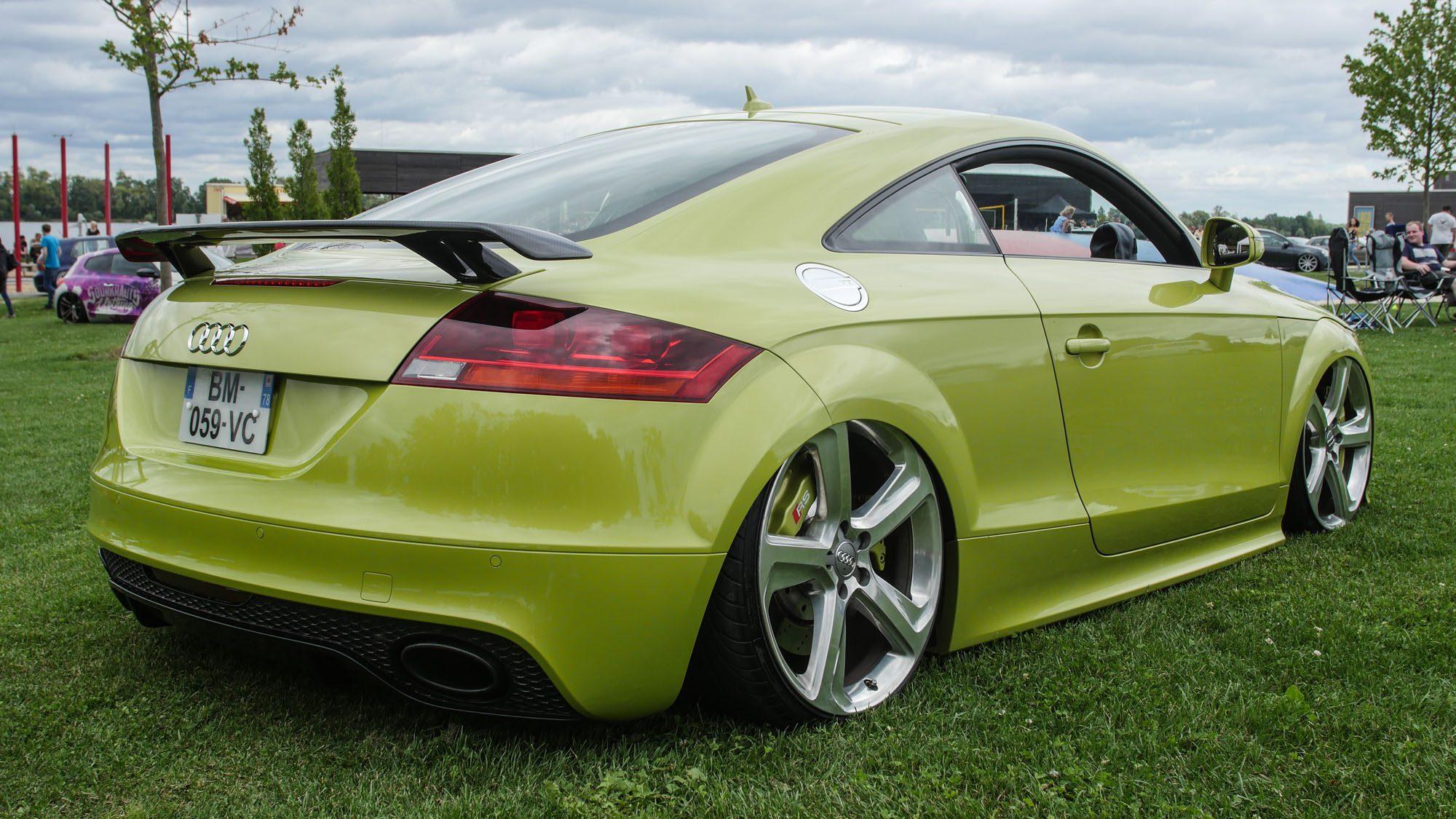 Heckpartie des Audi TT