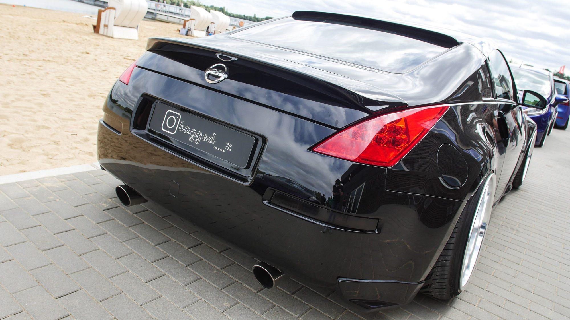 Heck des Nissan 350Z