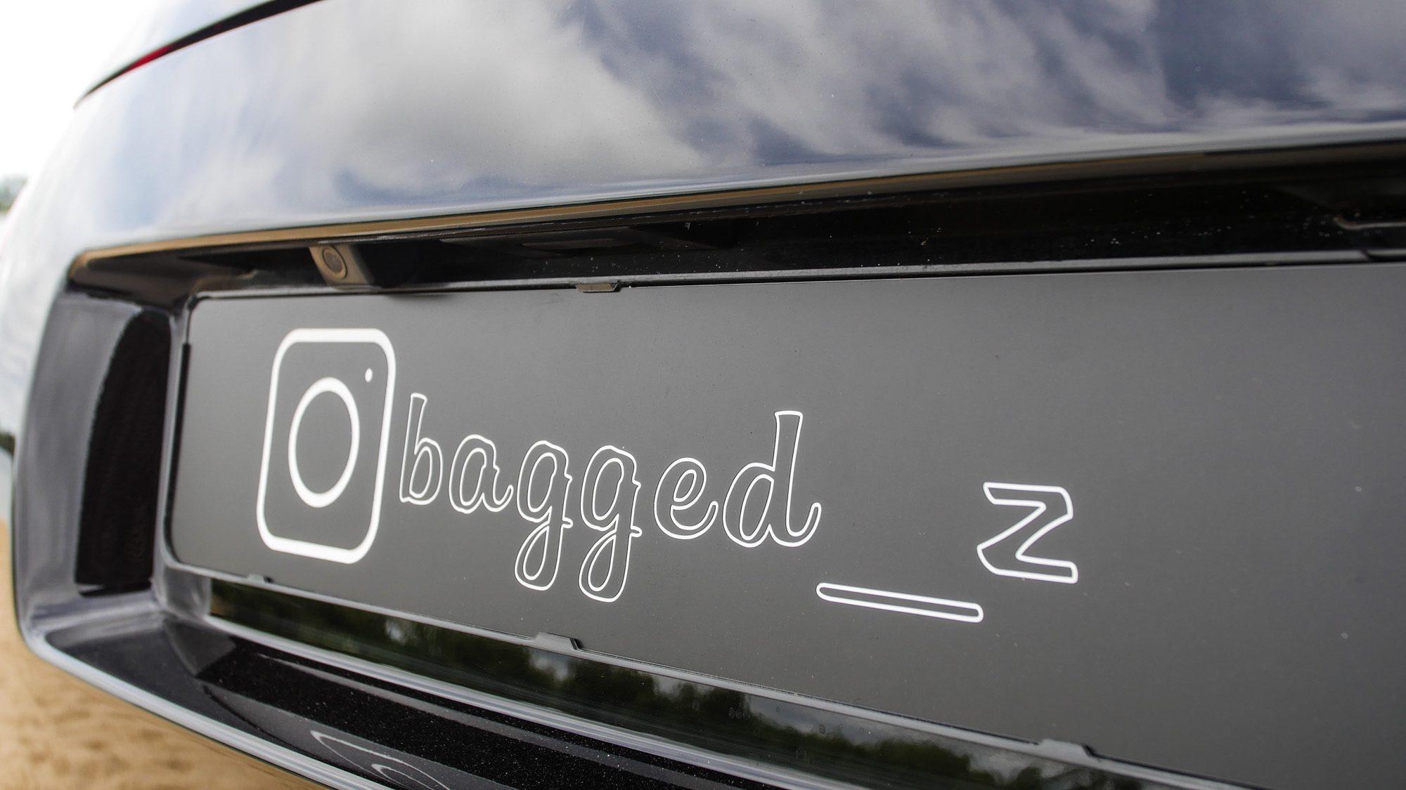 Der Name des Nissan 350Z ist Programm: Bagged___Z