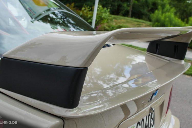 Heckflügel am BMW E36