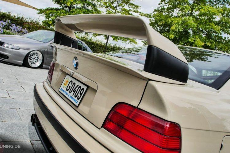 Heckansicht des BMW E36