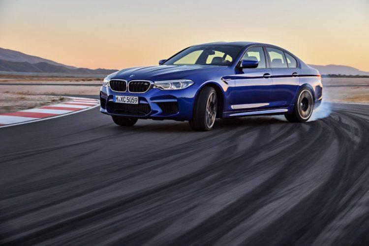 Driften ist natürlich eine der Paradedisziplinen des BMW M5 G30!