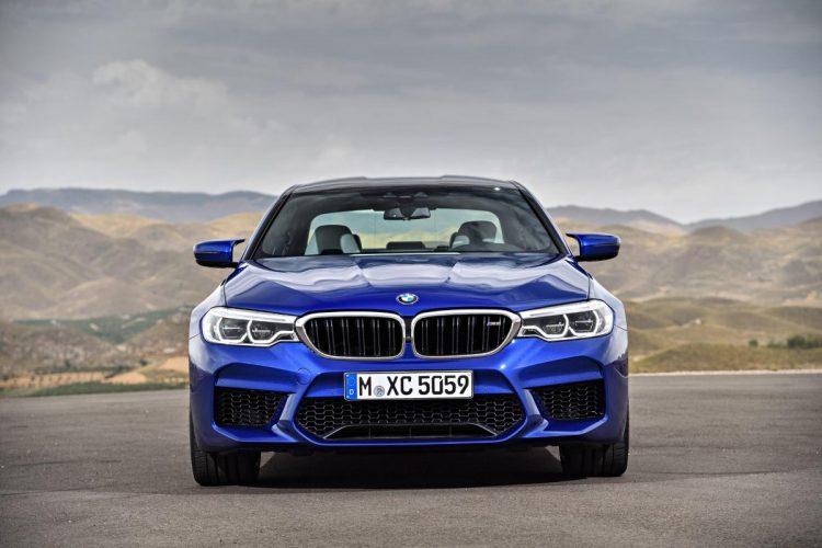 Front des BMW M5 G30
