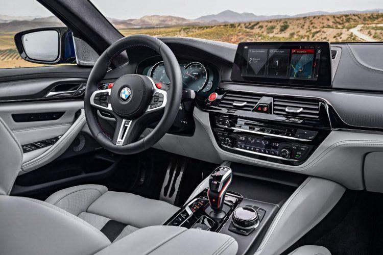 Cockpit des BMW M5 G30