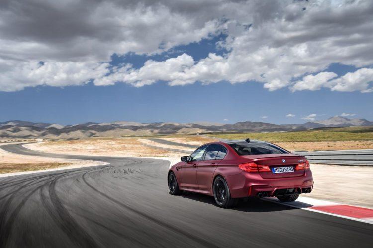 Mit dem BMW M5 G30 auf der Rennstrecke!