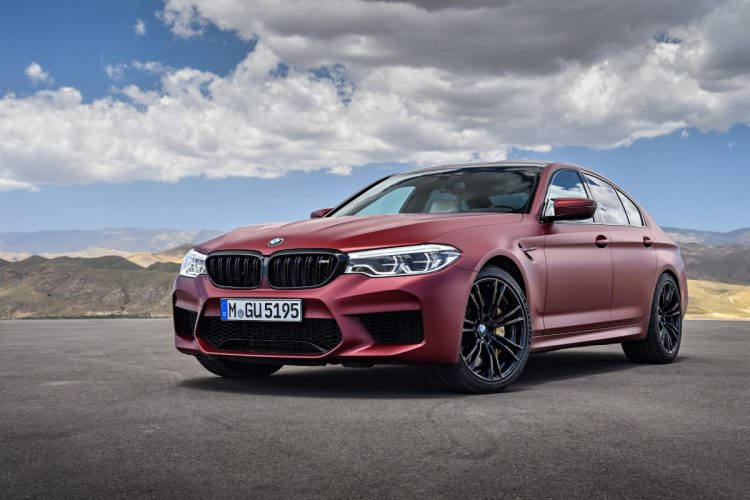 Frontansicht des BMW M5 G30