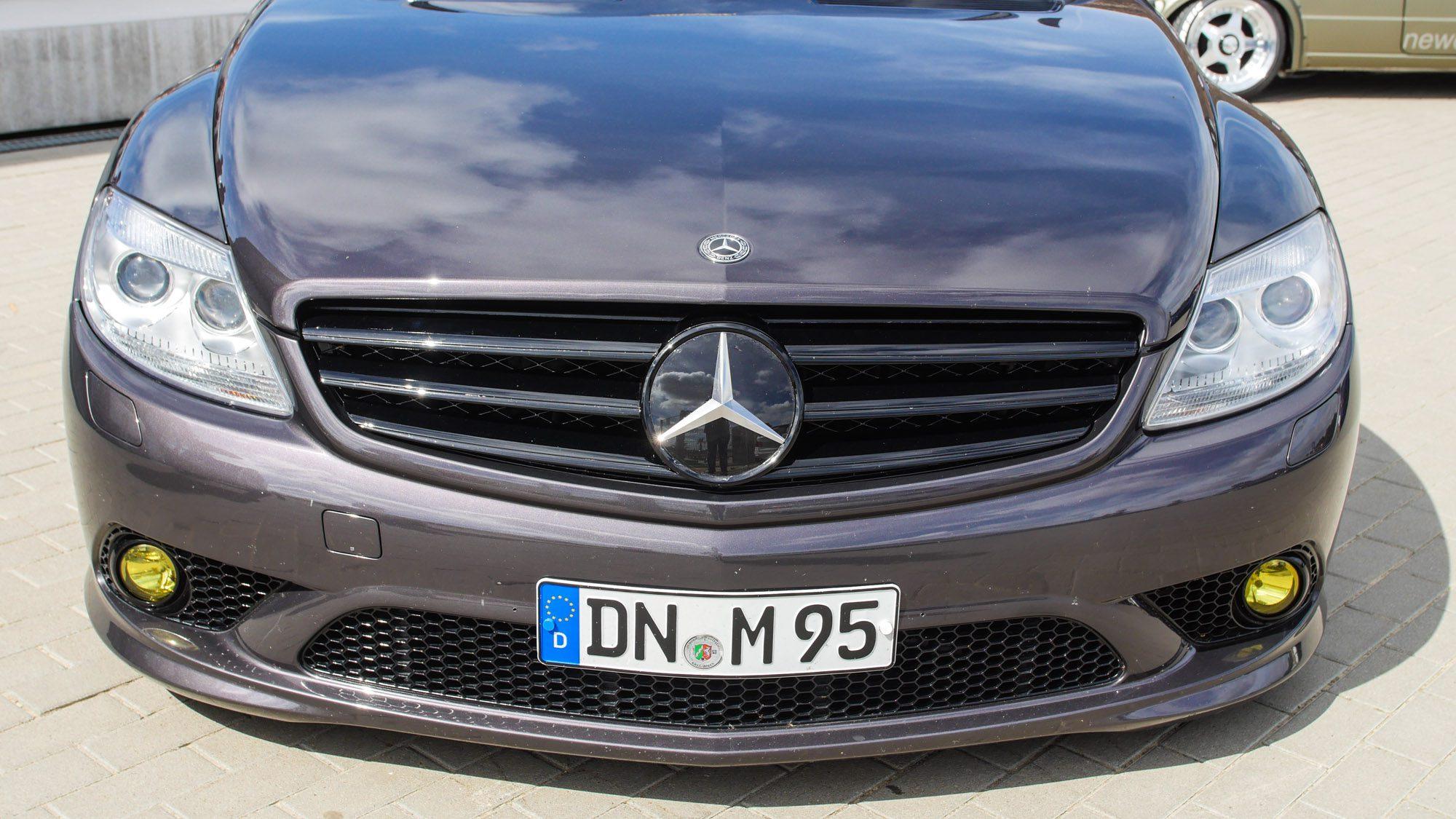 Front des Mercedes CL500
