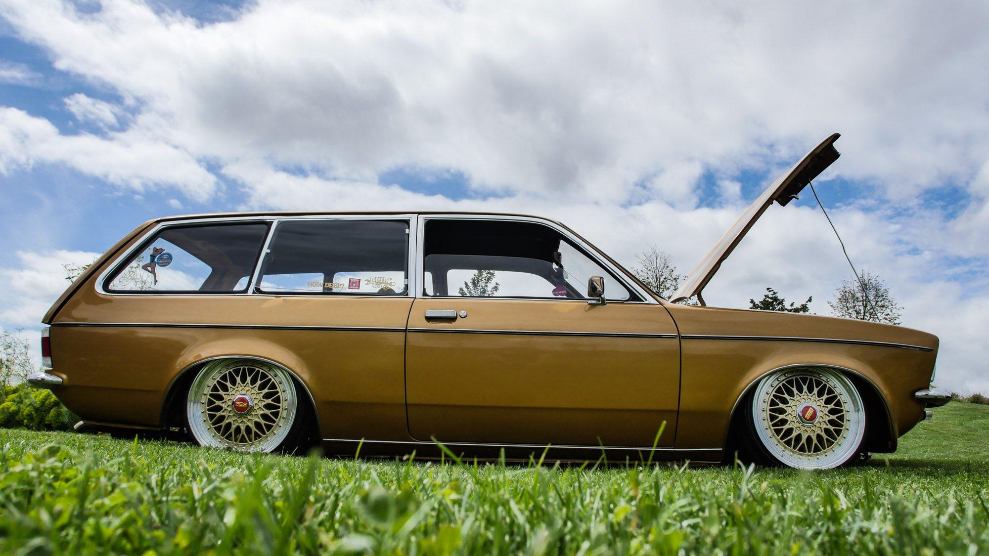 Seitenansicht des Opel Kadett C Caravan