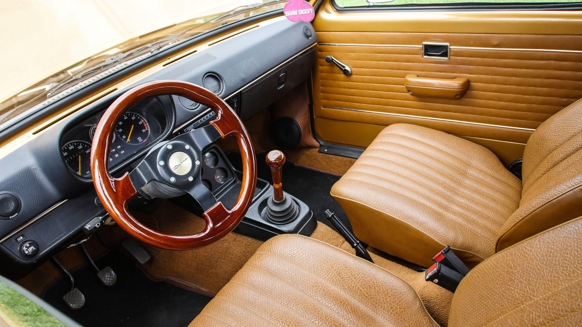 Interieur des Opel Kadett C Caravan
