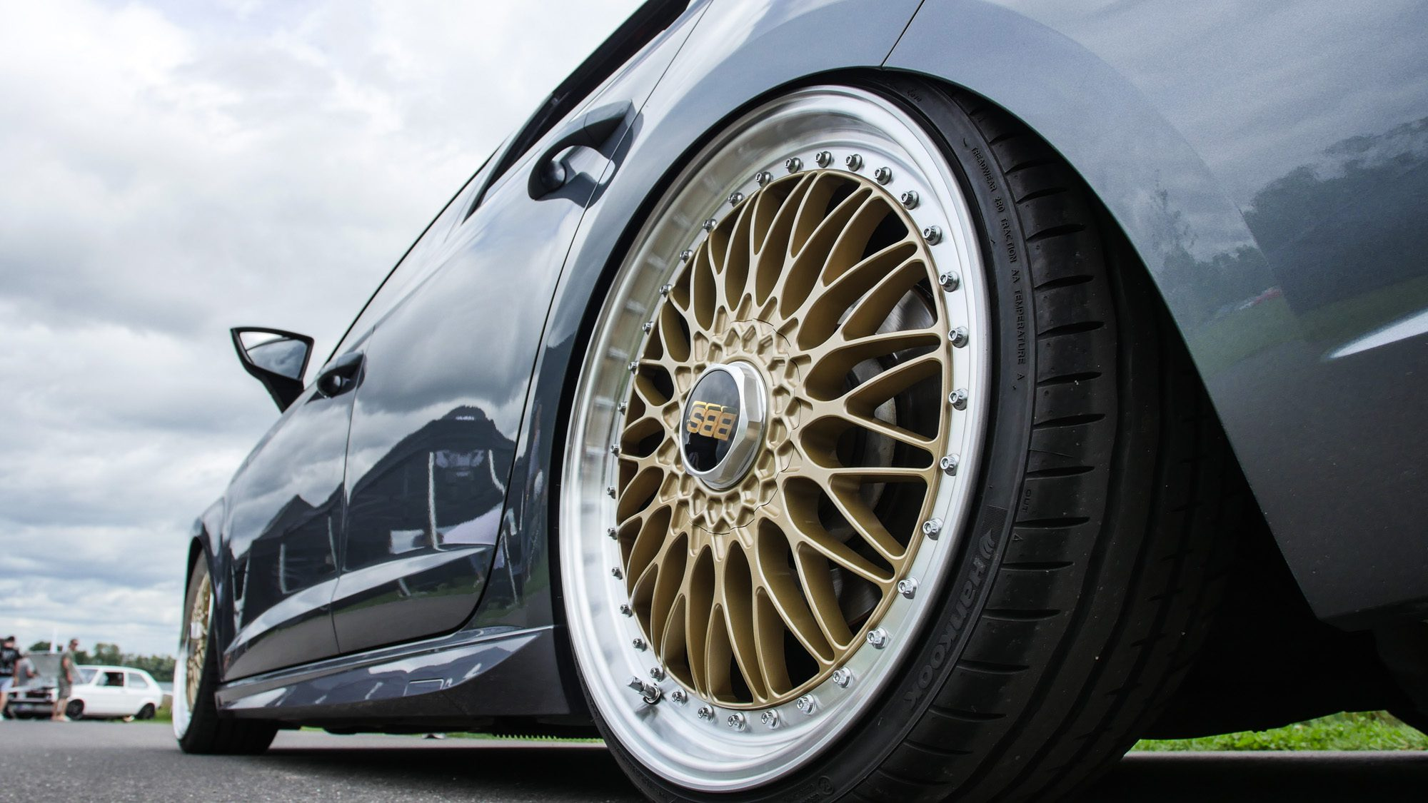 BBS Super RS auf dem Seat Leon ST Cupra