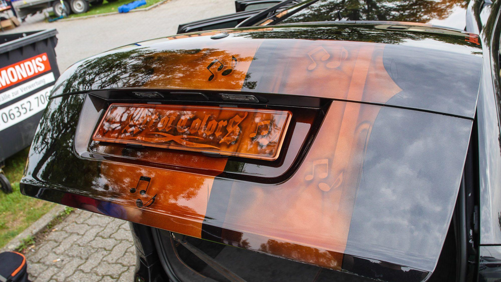Heckklappe des Skoda Octavia RS