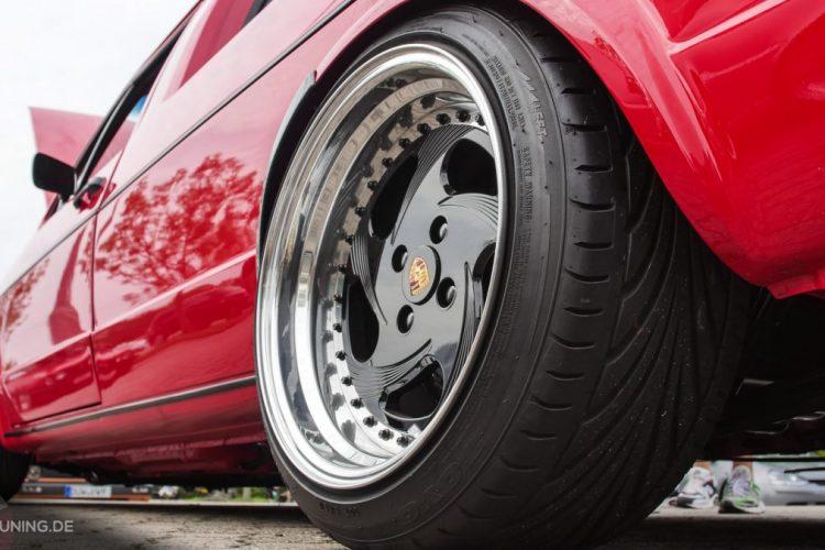 Schicke Radwahl am VW Caddy