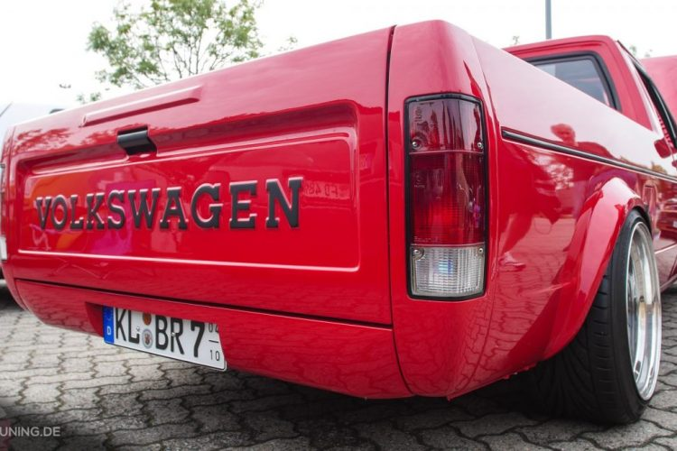 Heck des VW Caddy