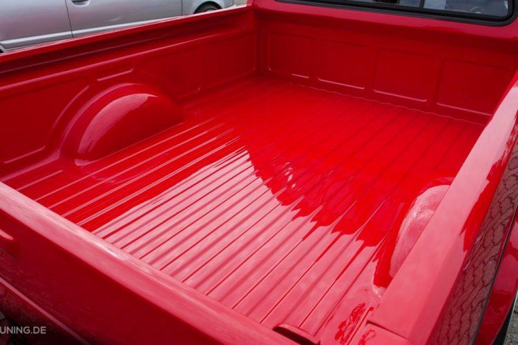 Massig Stauraum sorgfältig lackiert: VW Caddy