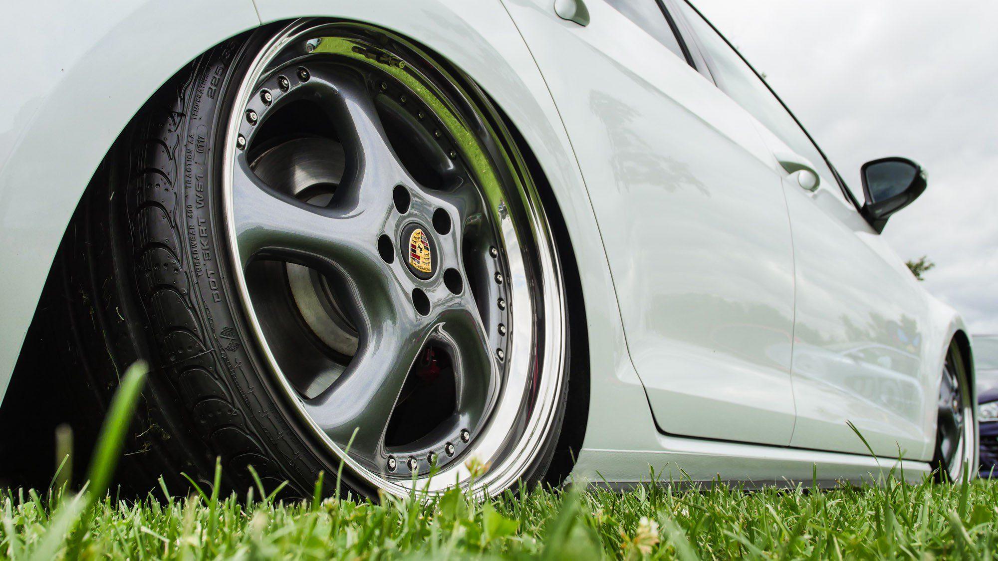 Heiße Radwahl auf dem VW Golf VII GTI