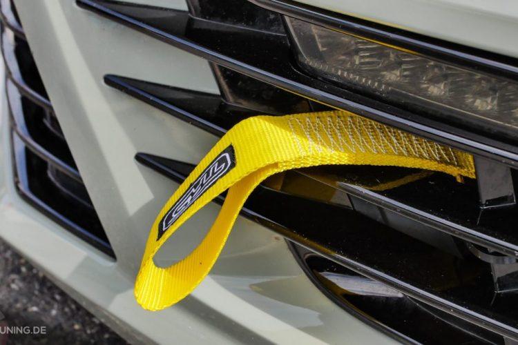 Elemente aus dem Rennsport dürfen am VW Scirocco nicht fehlen!