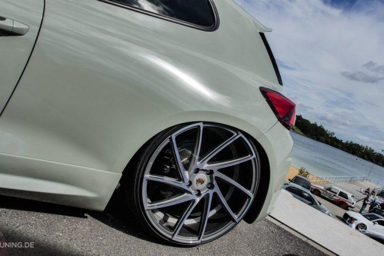 Heckpartie des VW Scirocco