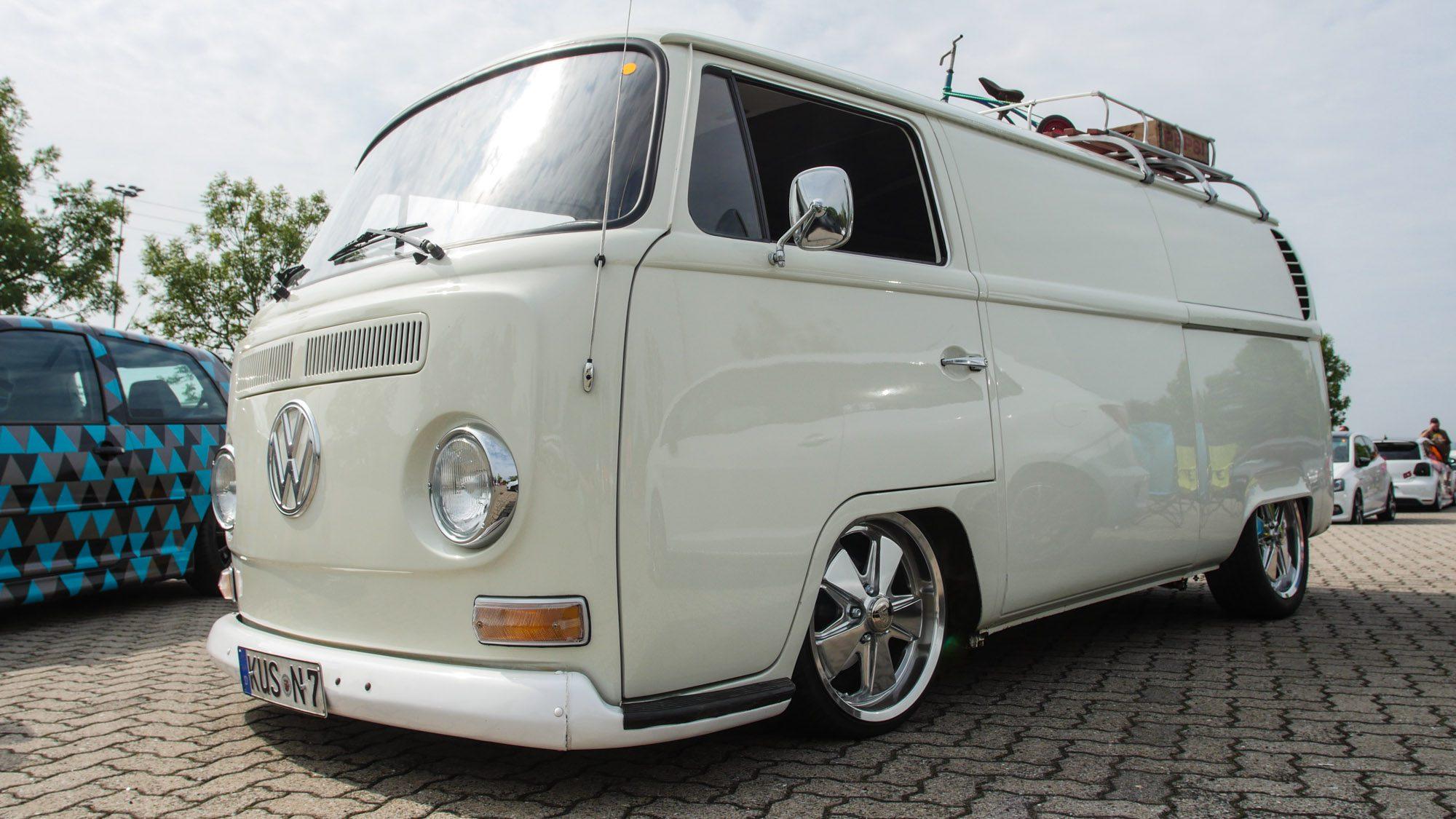 Mehr Style kann ein VW T2 wohl nicht haben!