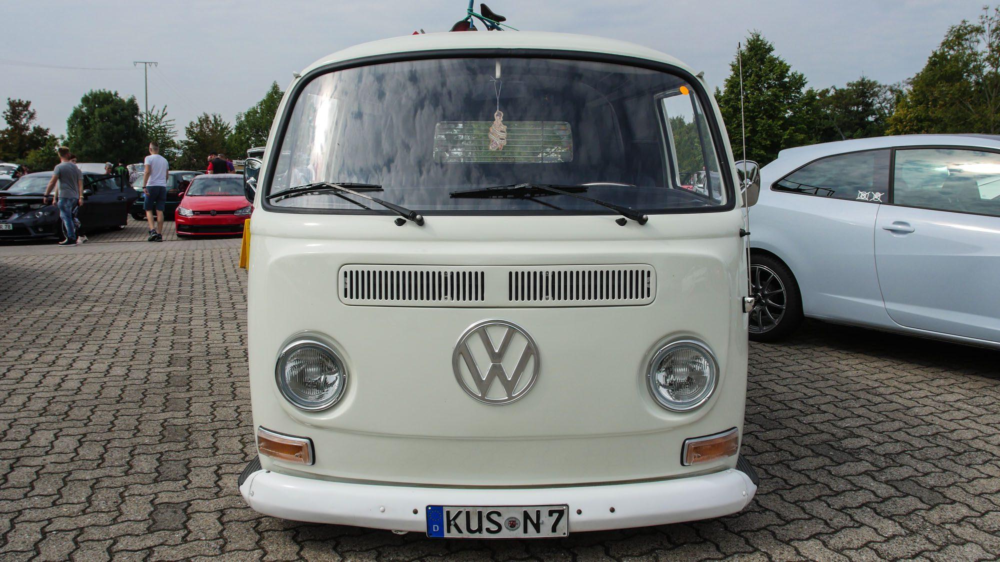 Frontansicht des VW T2
