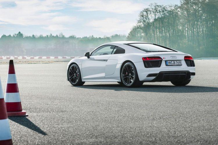 Der Audi R8 V10 RWS ist bereit für die Piste
