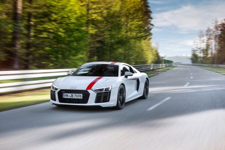 Front des Audi R8 V10 RWS
