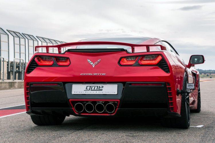 Heck der Corvette C7 Stingray.