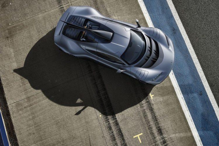 Das Mercedes-AMG Project ONE von oben