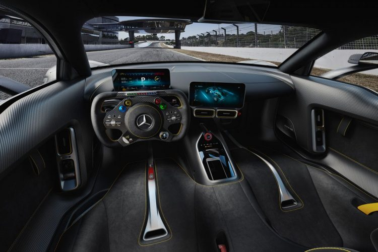 Das Cockpit des Mercedes-AMG Project ONE