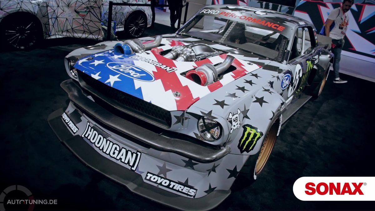 Brachiales Arbeitsgerät von Ken Block: Widebody-Mustang mit massig Power