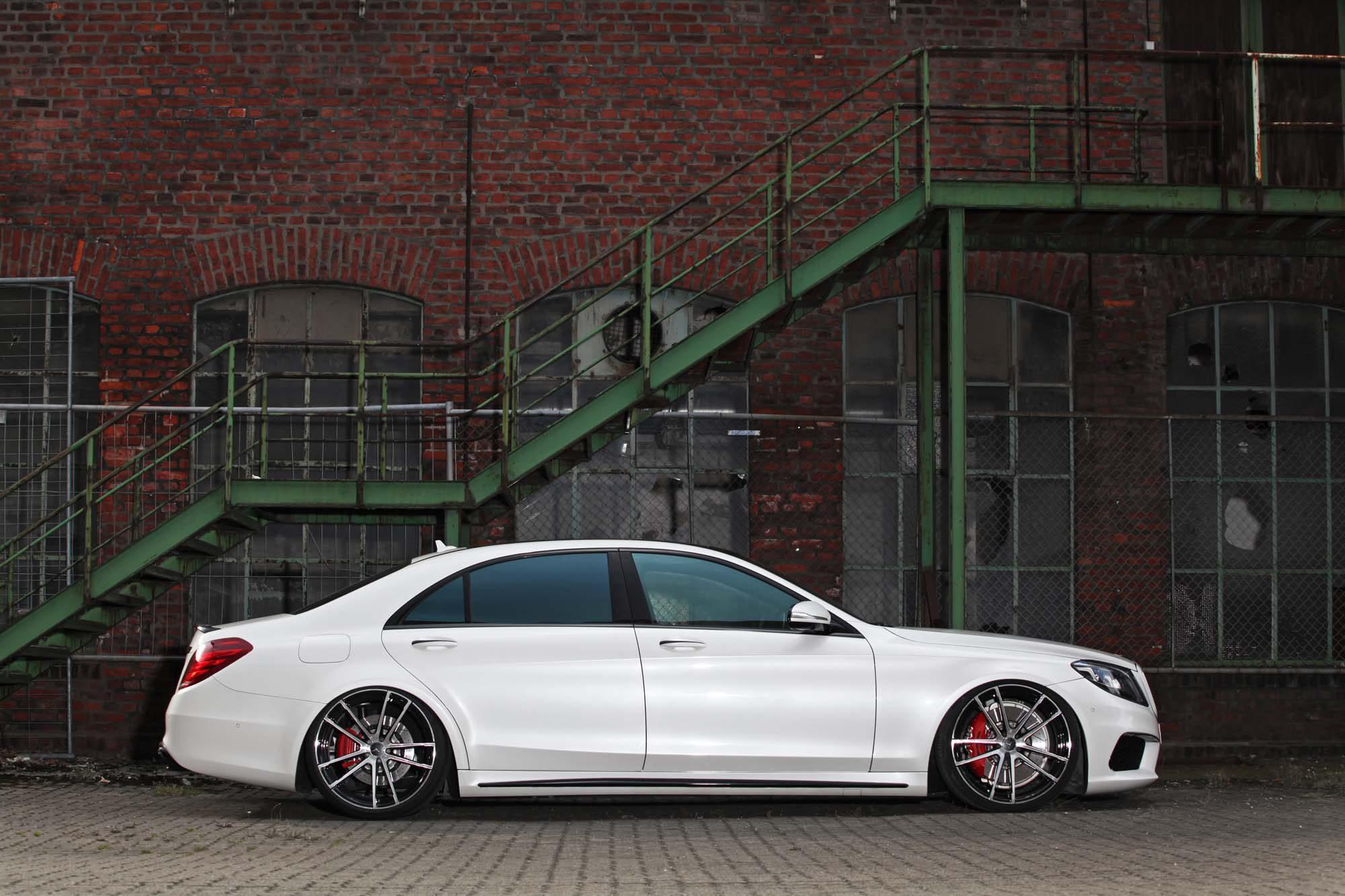 Flache Flunder: Der Mercedes-AMG S 63 L von Inden Design