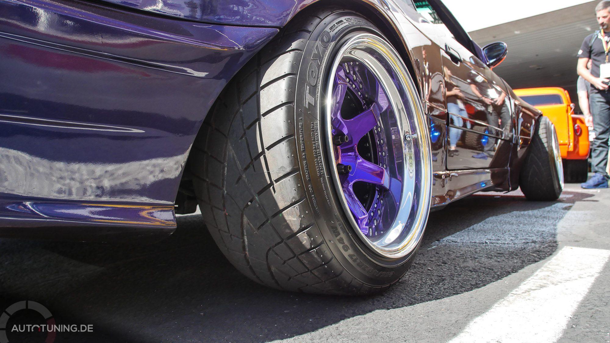 Abgestimmt: Felgen und Chassis in selber Farbe!
