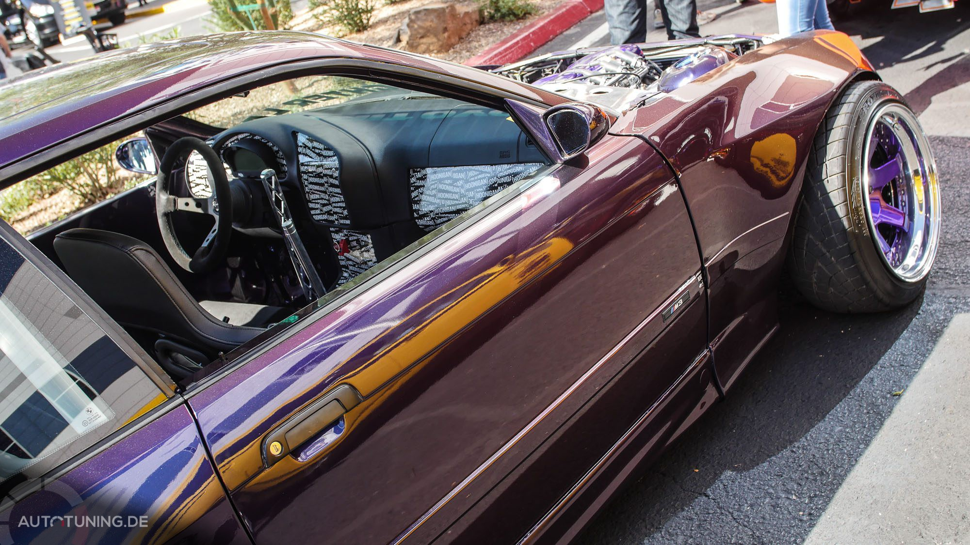 Seitenansicht BMW E36 M3