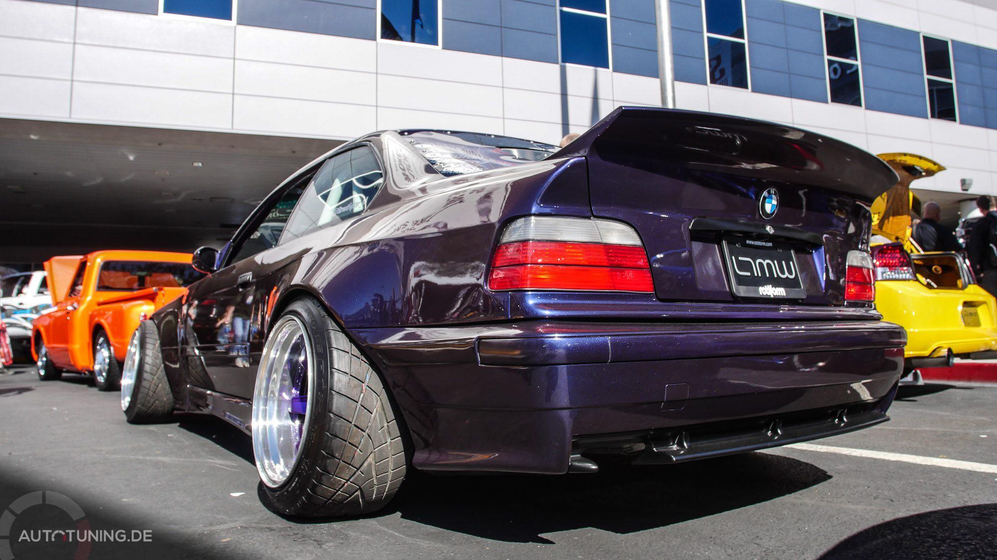 Heckansicht BMW E36 M3