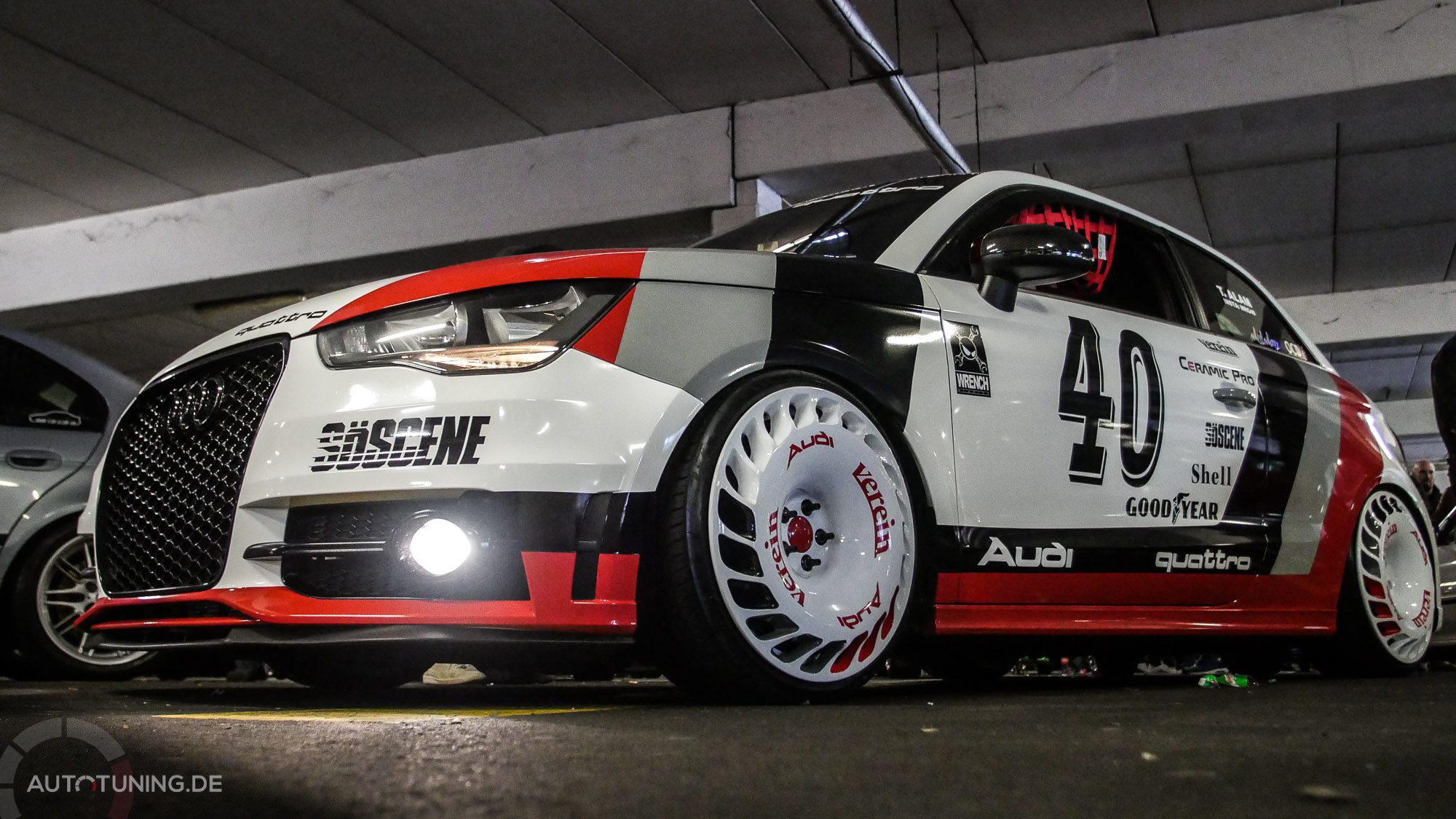 Getunter Audi im Racing-Style!