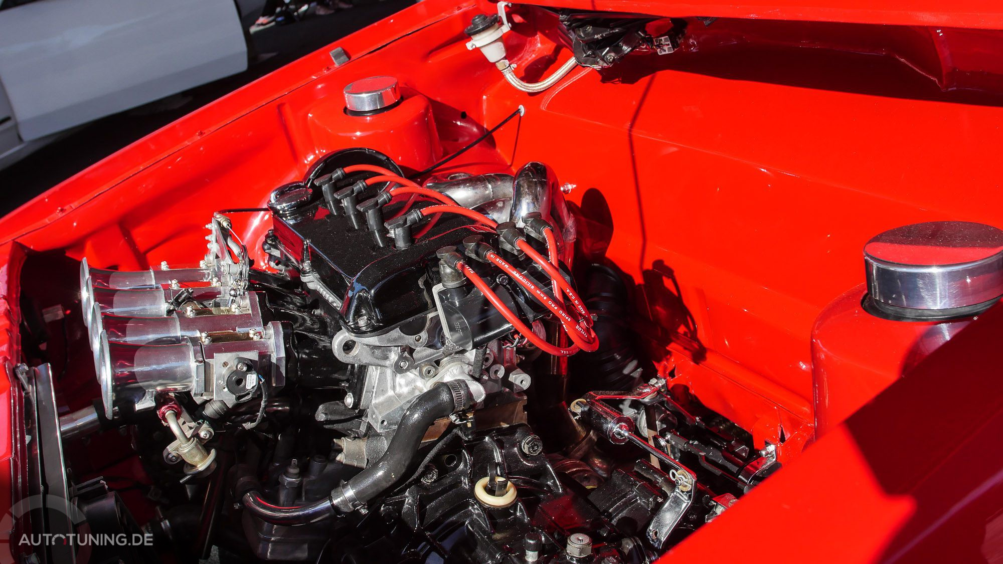 Motorraum VW Golf Mk1