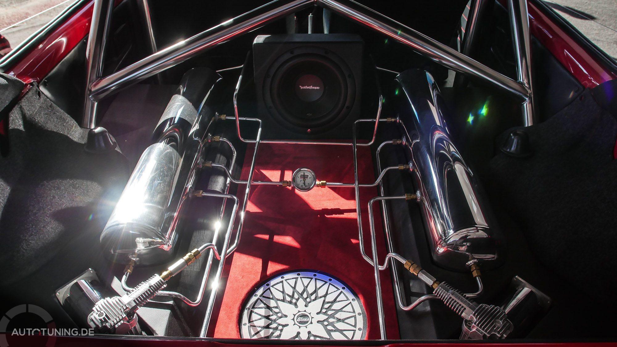 Innenleben des Golf Mk1 - Innenansicht