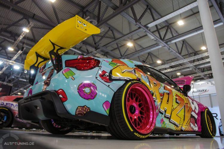 Toyota GT86 2Crazy 2JZ mit Spongebob-Spoiler