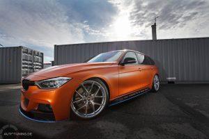 BMW F31 in Szene gesetzt, Car Porn