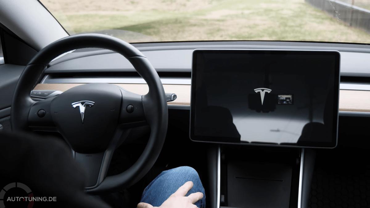 Neustart des Tesla Model 3