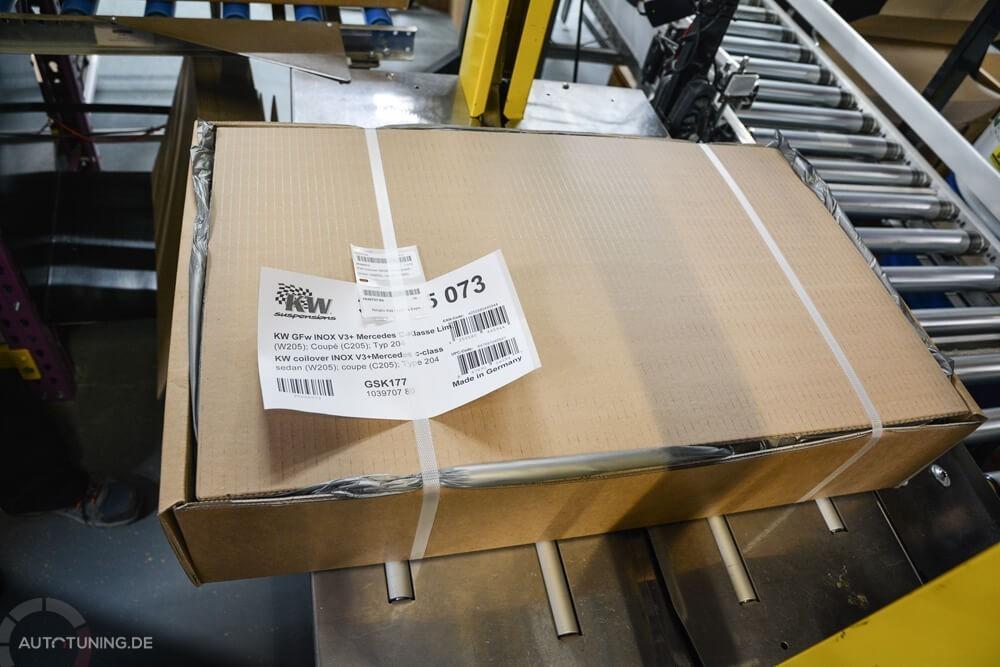 KW Paket mit Lieferschein