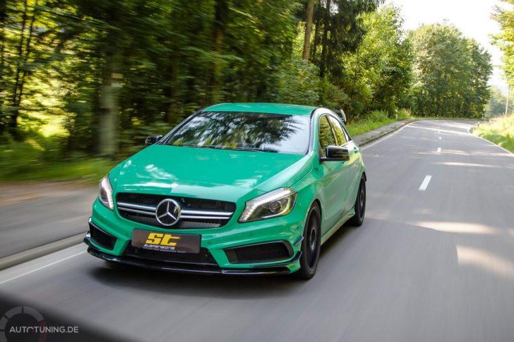 Das sportlichste Topmodell der Mercedes A-Klasse: Der Mercedes A45 AMG
