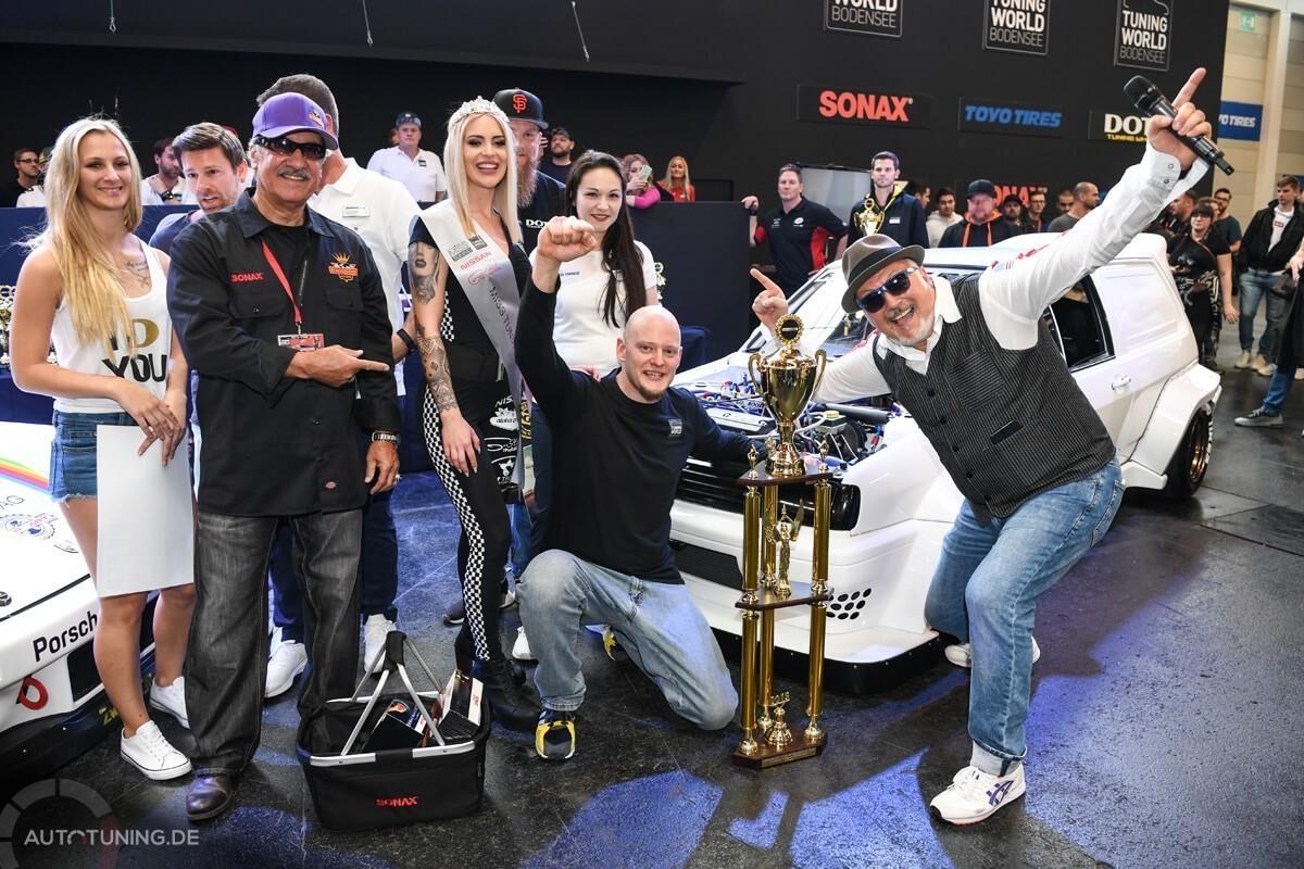 ETS Platz 2: Thomas Owczarski mit seinem VW Polo 3