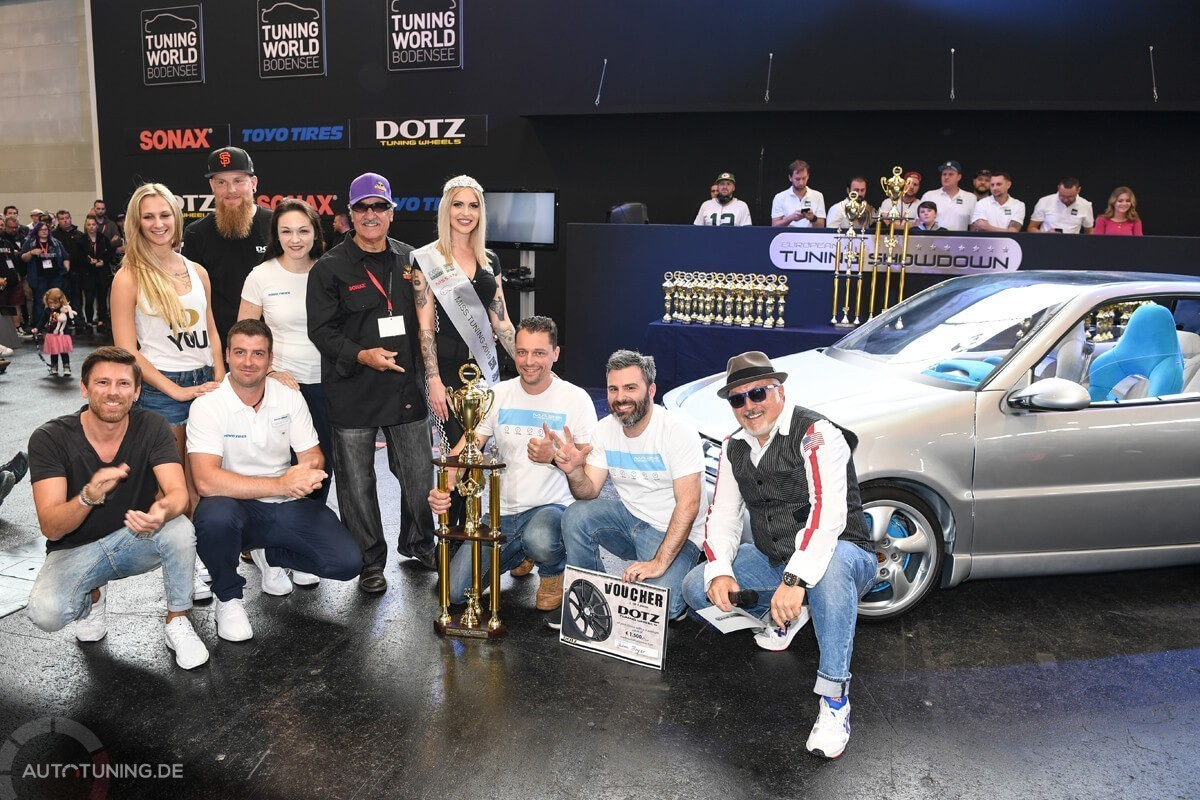 Dritter Platz beim ETS 2019: Julien Boyer mit seinem VW Polo e-drive concept