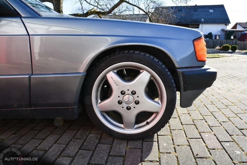 Mercedes-Benz 190 Seitenansicht