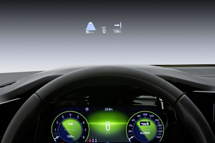 Augmented Reality mit Head-Up-Display im VW Golf 8