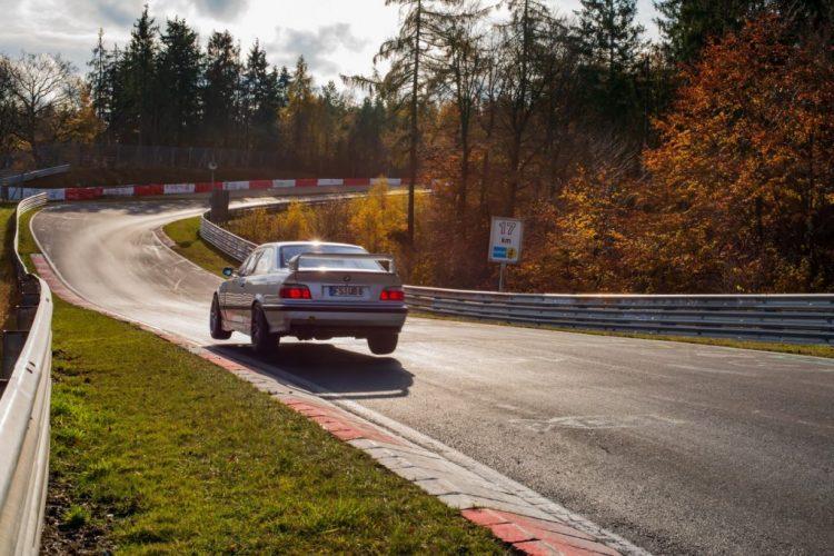 BMW M3 E36 auf der Nordschleife